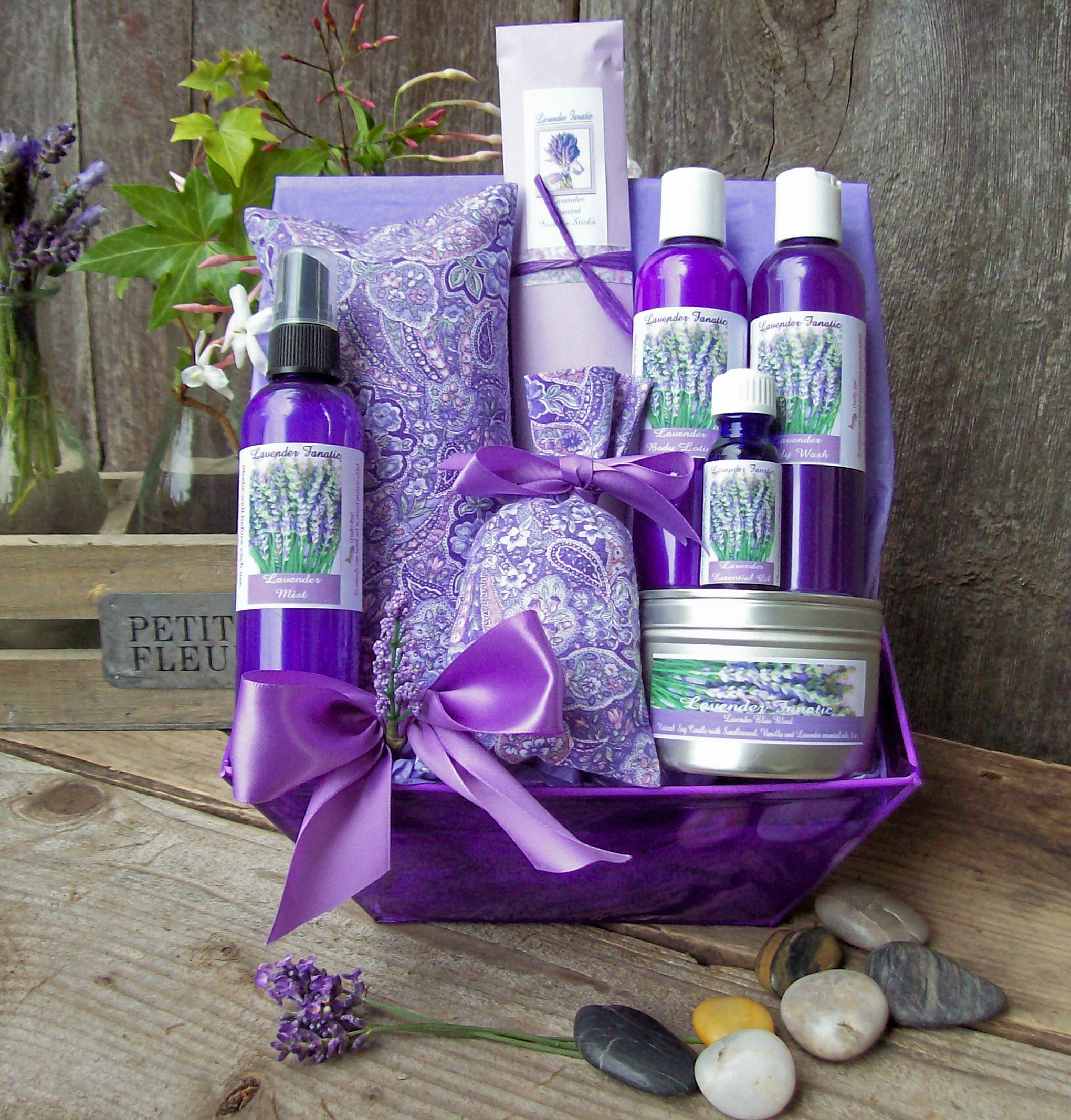 products lavender gift set