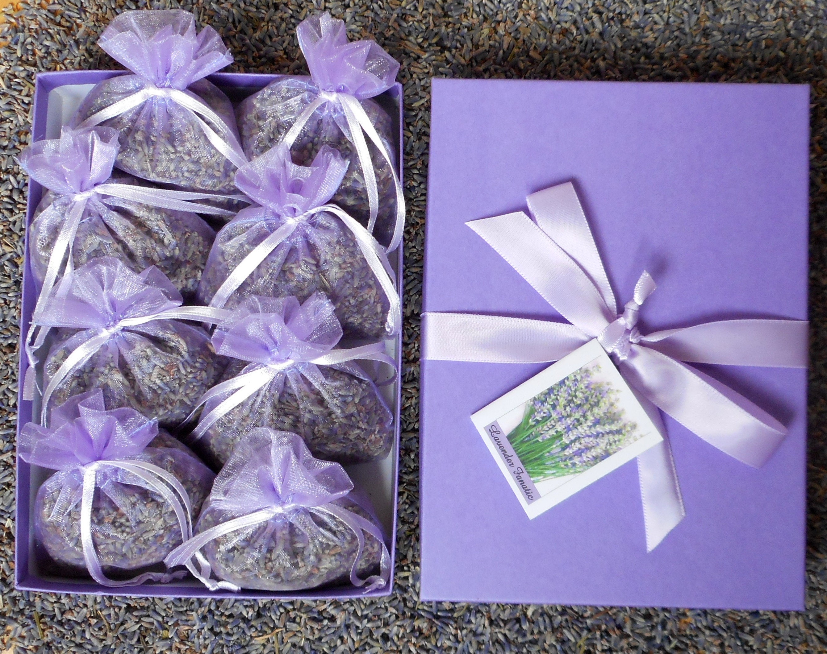 lavender sachet gift set  lavender fanatic products  gifts