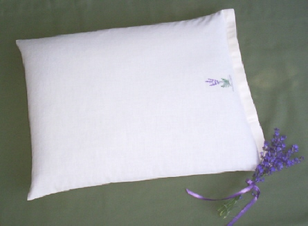 Lavender buckwheat pillow by Lavender Fanatic