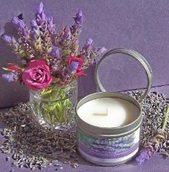 Lavender Candle by Lavender Fanatic.