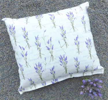 Lavender pillow filled and fragrant!