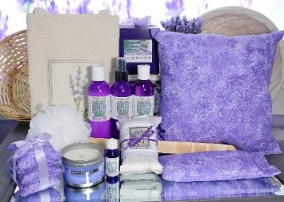 Loaded Lavender Gift Set by Lavender Fanatic.