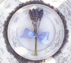 Lavender wedding flowers by Lavender Fanatic.